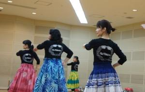 熊本のフラダンス教室 レッスン風景